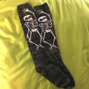 NWOT Skeleton Knee Socks 💀💀💀